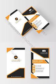 Creative Modern Vertical Business Card Template Psd Free