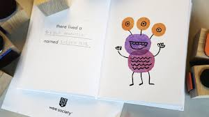 create your own spooky story wee society create your own spooky story in the latest diy from the wee workshop kids can make their own halloween inspired books