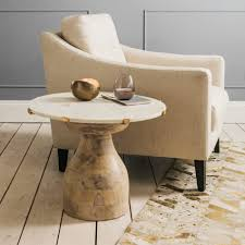 African Drum Coffee Table Swedese Drum Side Table Instead Of Your Typical Outdoor Coffee
