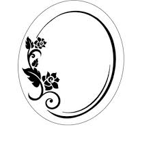 Oval frame design Swirl Reviews Of Oval Frame Ponoko Design Your Own Products Oval Frame