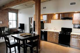 Beautiful A View Inside A One Bedroom Apartment At The Hudson Arthaus Apartments On  Monday,