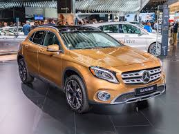 2018 mercedes benz gla class. exellent mercedes buyers will be able to further distinguish either gla250 with the current  night package or a new limitededition ice that matches cirrus white  on 2018 mercedes benz gla class