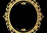 gold frame border vector. Fine Gold Gold Frame Border Vector Png Unique Vintage  Pattern With