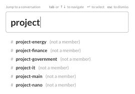 プロジェクト管理に Slack を活用する Slack