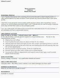 Cv Example School Leavers Uk Google Search Careers Resume Examples