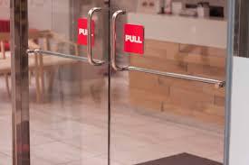 Decorating commercial door installation photographs : Commercial Glass Doors