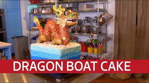 Texas Cake House Dragon Boat Cake Youtube