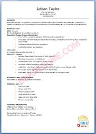 Respiratory Therapist Resume Templates Respiratory Therapist Resume Examples Fieldstation Aceeducation 14