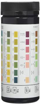 Multistix Color Chart Siemens Multistix 8 Sg Urine Reagent Test Strips 100 Box
