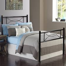 Cheerwing 12.7'' High Metal Platform Bed Frame with Two Bowknot ...