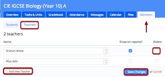 Configuring Class Settings Teachers Grades Attendance