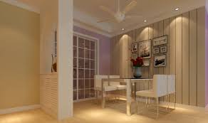 dining room ceiling fan. Minimalist Dining Room With Ceiling Fan I