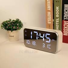 Best Digital Clock For Bedroom Alarm Clock For Bedroom Silent Bedroom Alarm  Clock Large Led Display .