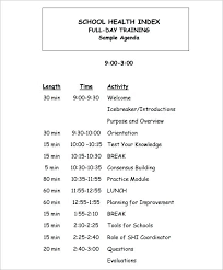 Training Agenda Training Agenda Template Word In Microsoft Deepwaters Info