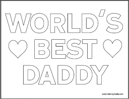 Small Picture Free Fathers Day Coloring Pages for Kids Happy father Father
