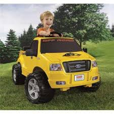Fisher-Price Power Wheels Ford F-150 Pickup Truck 6V Electric F150 ...