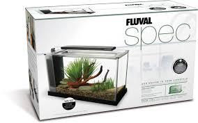 Fluval Spec V Black Slip On Led Light Fluval Spec V Aquarium Kit 5 Gallon Black