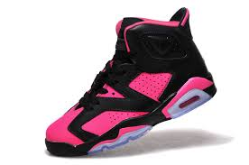 jordan shoes for girls 2015 black and white. 2015 air jordan 6 gs black pink shoes for sale-2 girls and white