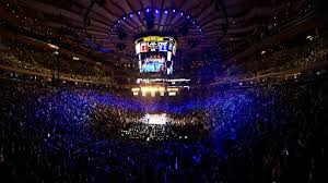 madison square garden is almost full for canelo rocky tonight
