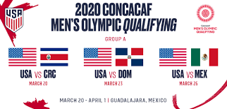 Maybe you would like to learn more about one of these? U 23 Usmnt To Face Costa Rica Dominican Republic And Mexico At 2020 Concacaf Men S Olympic Qualifying Championship