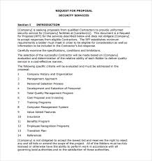 Sample Service Proposal 13 Documents In Pdf Word