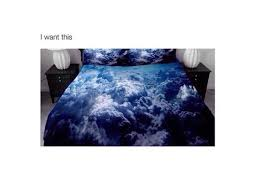 blue bed sheets tumblr. Perfect Sheets Home Accessory Bedroom Bedding Blanket Tumblr Sheet Clouds  Cloud Print Blue Cloud Pillow Sheet  Wheretoget Intended Blue Bed Sheets Tumblr B