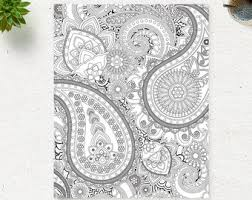 Small Picture Floral Mandala Coloring Page Printable Pattern Adult Coloring