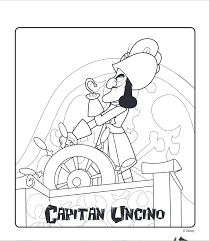 Capitan Uncino Cartone Animato Disney Jake E I Pirati Dellisola Che