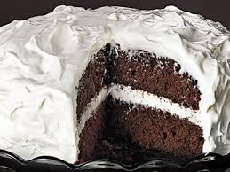 chocolate cake with frosting. Perfect With Chocolate Cake With Fluffy Frosting And With L