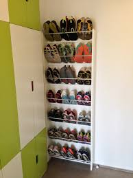 full running shoe rack in action