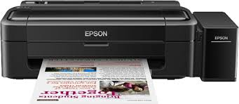 Amazon In Buy Epson L 130 Color Single Function Inkjet Printer Cost Of Color Printer L