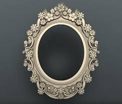 Stl File Designer 3ds Frames Stl 3d Model Mirror Frame 3d Frames