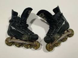Details About Mission Wicked 5 Light Kids Youth Inline Hockey Skates Size 4 Us 36 Eu Msrp 200