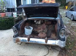 1956 chevrolet bel air 4 door hardtop with factory AC and doner ...