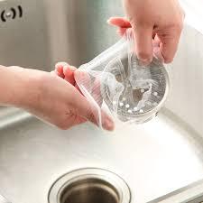 Online Shop <b>100Pcs</b> Sewer Water Filter Disposable <b>Kitchen Sink</b> ...