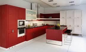 Originales Muebles Cocinas Rojas Y Blancas