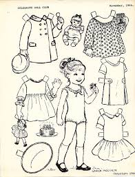 Small Picture 97 best Color Your Own Paperdolls images on Pinterest Paper