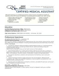 Samples Of Medical Assistant Resume Classy Medical Assistant Resume Profile Examples As Well As Profile Example
