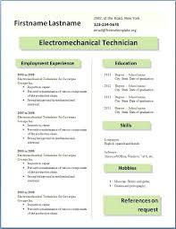 Professional Resume Templates 2015 Curriculum Vitae Example Free Download Professional Cv Template