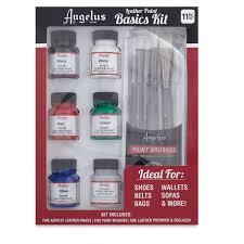 acrylic leather paint basic kit