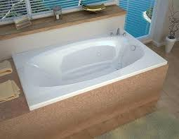 66 bathtub x rectangular air whirlpool jetted bathtub with right drain by 66 inch bathtub canada