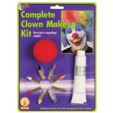 navi avatar make up kit clown makeup kit with nose