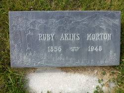 Ruby Rosella Akins Morton (1856-1948) - Find A Grave Memorial