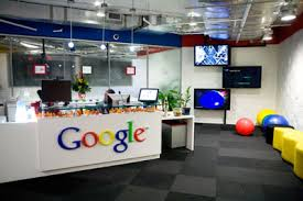 google inc office. The Reception Area At Google, Inc. See More Pictures Of Googleplex. Google Inc Office C