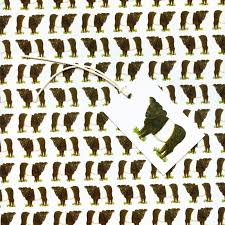belted galloway gift wrap