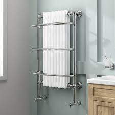 iBathUK 8 Column Traditional Designer Heated Towel Rail Bathroom