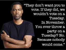 Voting Quotes Classy Chris Rock On Election Day