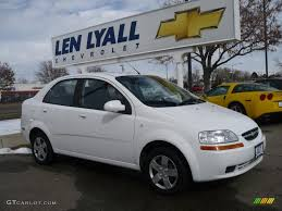 All Chevy chevy aveo 2006 : 2006 Summit White Chevrolet Aveo LS Sedan #26355565 | GTCarLot.com ...