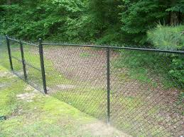 install a chain link fence on uneven ground