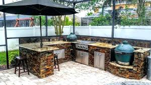 affordable outdoor kitchen gazebo designs kitchens patio backyard landscaping ideas small plans arbor o